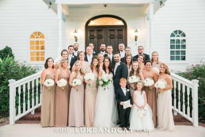 We had so much fun at our wedding with all of our friends and family, but especially this amazing wedding party!