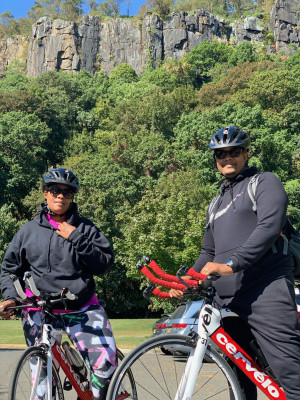 We love cycling and try to cycle as often as we can, exploring new trails.