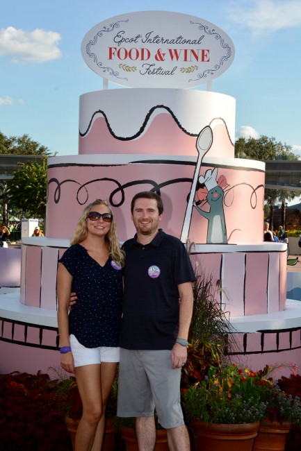 We were so lucky to visit Disney World during the international food and wine festival!