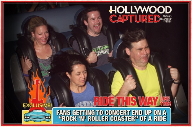 This ride goas 0 to 60mph in just a couple seconds. Look at Matt's face =)