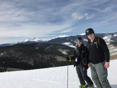 We really enjoy skiing and try to do it at least once each year.  We can't wait to make it a family event, kids and all.