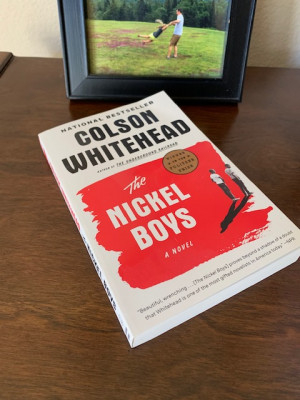 What's on Todd's night stand? Here's the book he's reading now. A book based on a real story of two boys unfairly sentenced to a reform school.