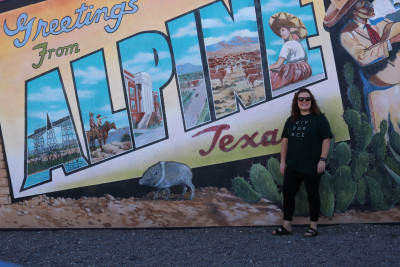 I love exploring new places. We drove to Alpine and over to Big Bend. Everything was so amazing and beautiful. Cannot wait to go back and see more.
