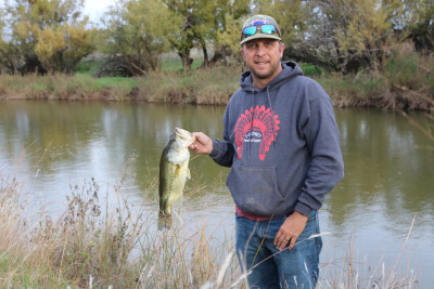 I love fishing! One of my favorite fishing holes is at Tamara's grandparents ranch on the creek that runs through it.