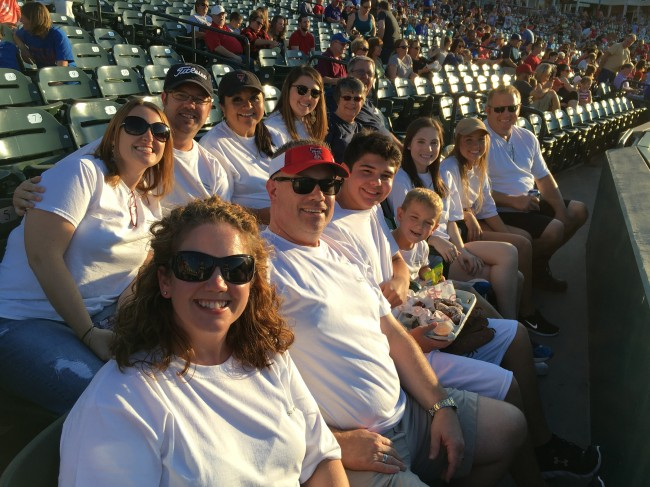 We love baseball! As part of the 50th anniversary celebration, we hit up a minor league game.