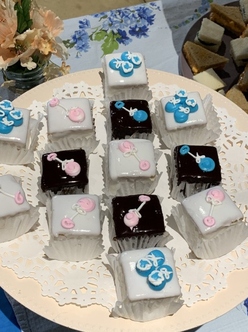 Petit fours are one of Meaghan's favorite desserts and perfect for a tea.