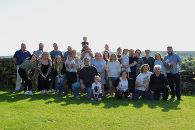 We were lucky enough to get all of Stephen's family together when we went to Northern England in the summer of 2019.