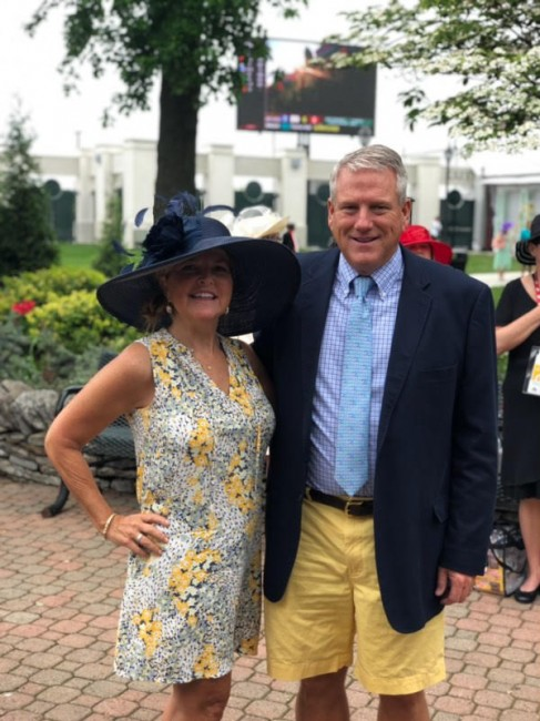 Alex's mom and step-dad, Cindi and Jamey, have gone to the Kentucky Derby  every year since 2013. Alex and her mom love finding fun hats for Cindi to wear each year.
