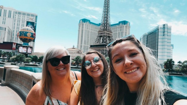 Alex, Emily, and Erin took a girls trip to Las Vegas in 2019 to see Lady Gaga in concert. Alex cried during the concert - twice.