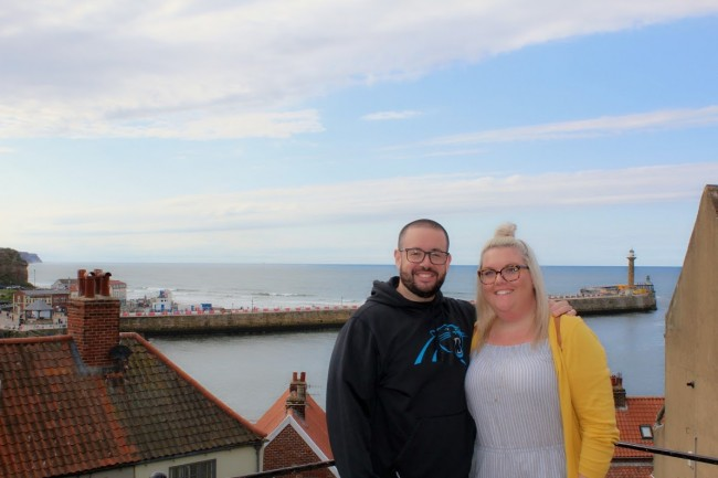 Whitby is a small town that Stephen's family loves. We visited in July and the high for that day was 65 degrees!