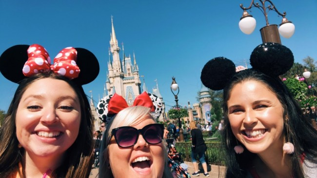 In February of 2020, Alex went to Disney World and Universal Studios with her cousin, Emily, and her friend, Carly. It was a great girls trip!