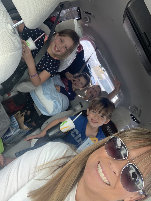Family road trips with cousins are the best!
