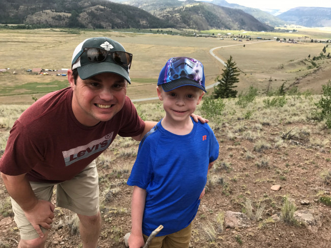 Clay and his nephew go hiking!