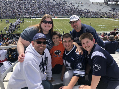 We love college football and love to cheer on Penn State Nittany Lions