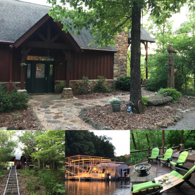 Another favorite of ours is visiting the Lake Hideaway. From water skiing, tubing and fishing to pool and family game nights, the Lake house provides the perfect relaxation getaway.
