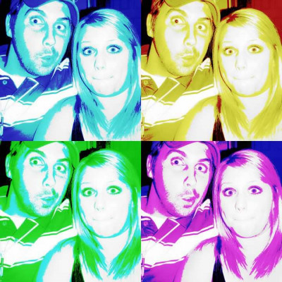 We love to goof off and just be us. Emily's got a creative side to her that inspires video, photography, art and more.