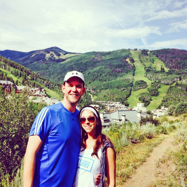Hiking in Colorado - we love the outdoors!