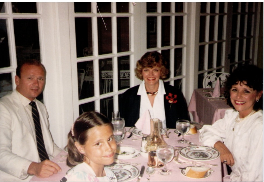 Me with my mom, aunt, and uncle in Bermuda.  We went every summer when I was growing up.
